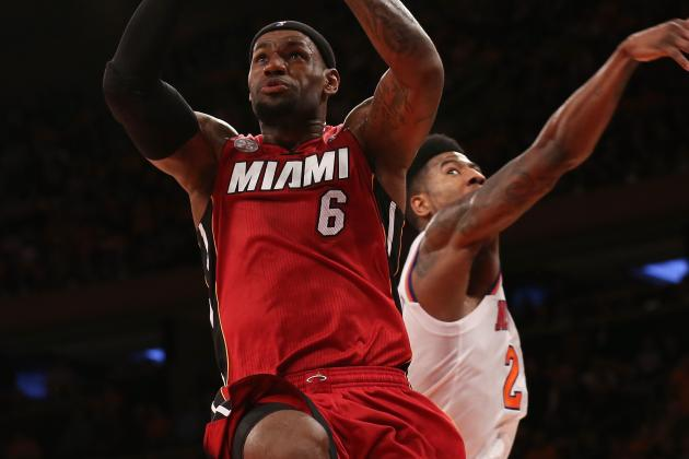 Injury Unlikely to Stop Miami Heat Forward LeBron James