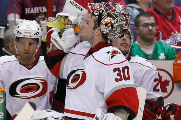 Cam Ward Diagnosed with Third-Degree MCL Sprain
