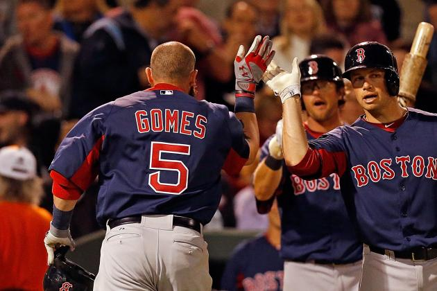 Gomes Back in the Lineup vs. Rays