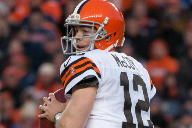 Browns Prepared to Part Ways with Colt McCoy?