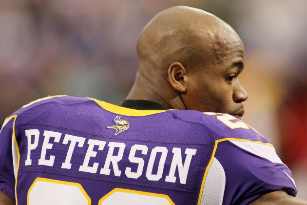 Vikings' Adrian Peterson Among NFL 101 Award Winners