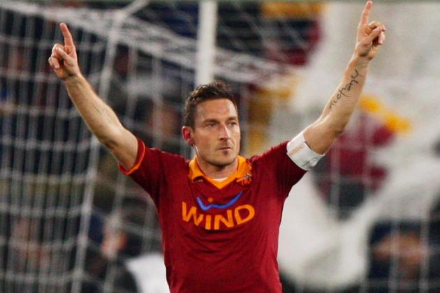 Totti Will Retire as Soon as He Beats Silvio Piolas Serie A Scoring Record