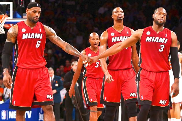 Breaking Down How the Miami Heat's Big 3 Have Evolved Since 2010