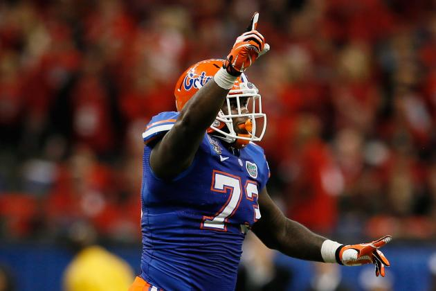 Sharrif Floyd Says Being Drafted by Eagles Would Be 'A Blessing'