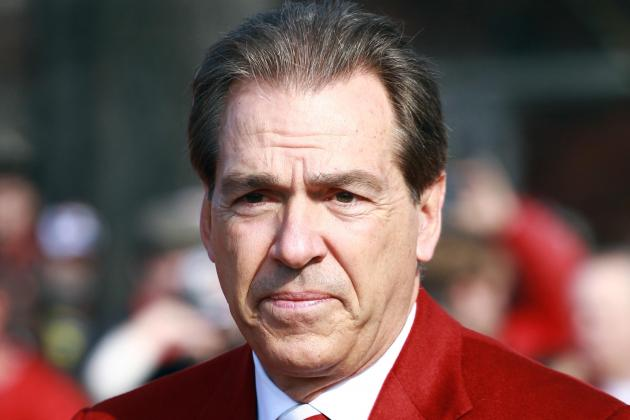 Watch Alabama Coach Nick Saban Talk Spring Practice, Recruiting Deregulation
