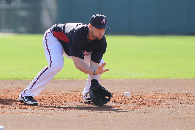 Johnson Looking to Earn Braves' Third-Base Job