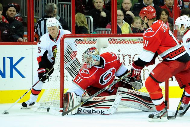 Cam Ward out 6-8 Weeks: Dan Ellis Era Begins for Carolina Hurricanes