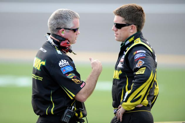 Former Carl Edwards Crew Chief Bob Osborne Back at Track, Celebrates Wins
