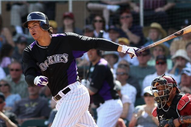 Rockies' Nolan Arenado Making His Push for a Spot on Big-League Roster