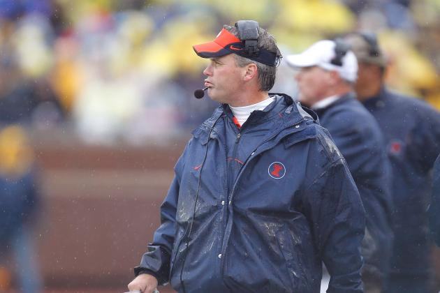Spring Q Illinois Coach Tim Beckman