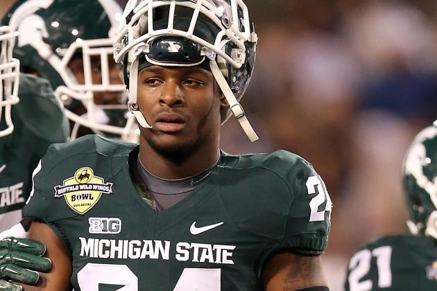 Bell Left Combine Surprised Draft Stock Not Higher After Career at MSU