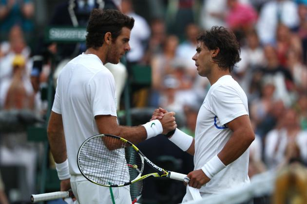 Rafael Nadal vs. Juan Martin del Potro BNP Paribas Showdown Preview