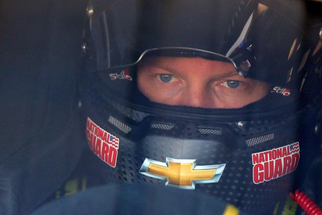 Earnhardt Jr. Loses Lead on Stop