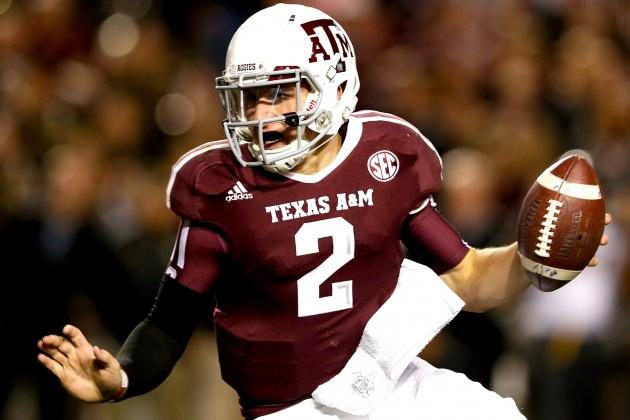 Johnny Manziel Mulling 2014 NFL Draft