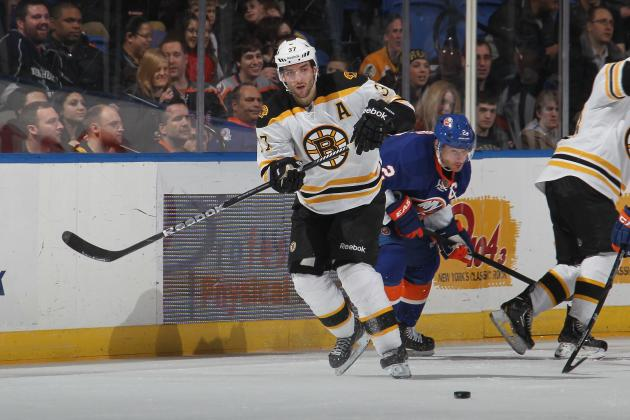 Patrice Bergeron Named NHL's Second Star of Week
