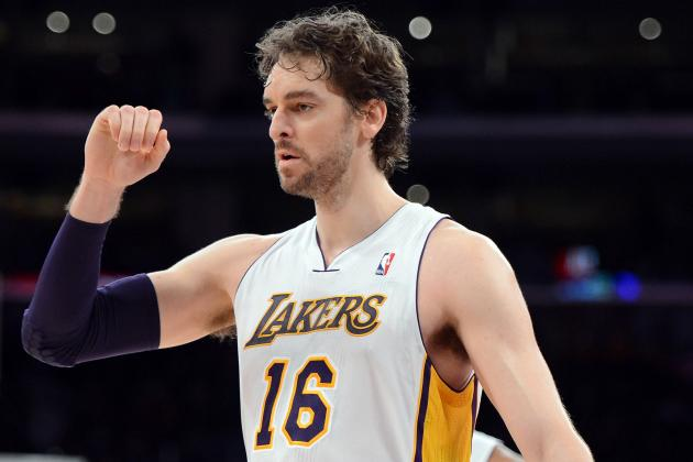 Pau Gasol: Lakers Will Struggle to Adjust When Big Man Returns from Injury