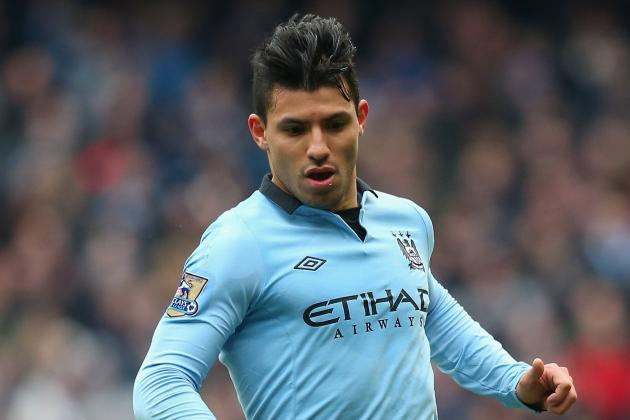 Aguero Won't Play vs. Aston Villa Due to Knee Injury