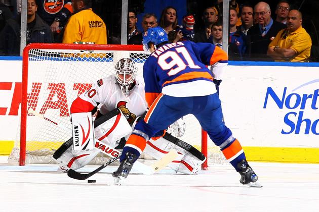 Islanders Edge Slumping Senators in Shootout