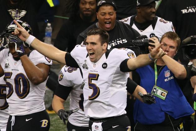 Looking at What Joe Flacco's New Contract Hints About the Ravens' Faith in Him