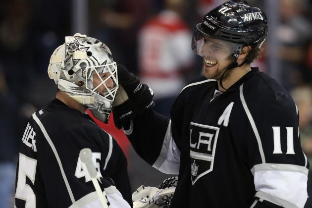 Bernier to Start, Martinez to Return on Defense for Kings