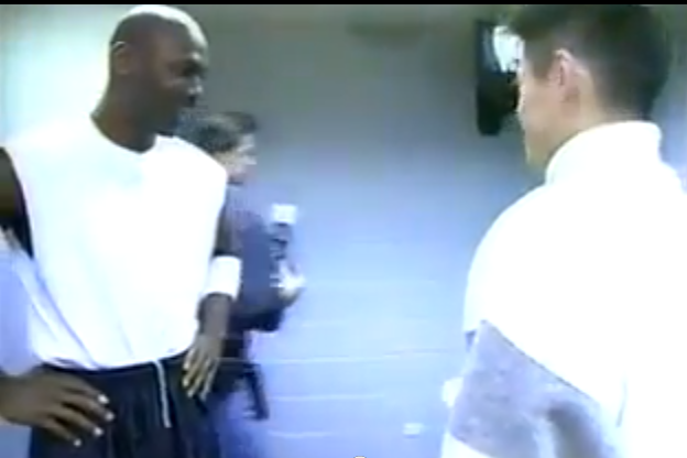 VIDEO: Ichiro Meets Michael Jordan ... in 1995