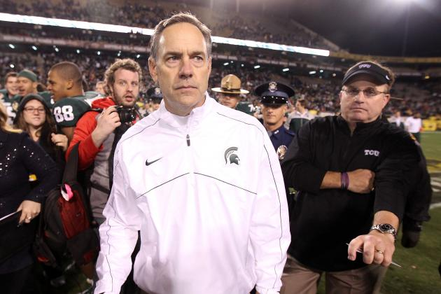 Dantonio Wants to Coach 'for a While,' Hopes Pat Narduzzi Succeeds Him