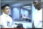 Video: Michael Jordan Meets 22-Year-Old Ichiro in 1995