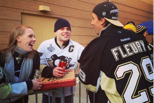 Instagram: Fluery Is Pittsburgh's Newest Delivery Boy