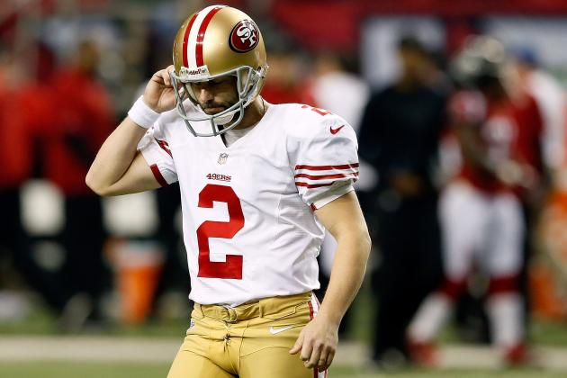 Analyzing San Francisco's Kicking Situation After David Akers' Potential Release