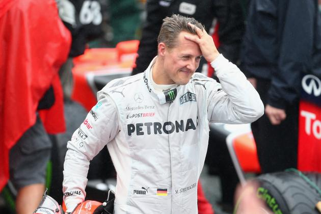 Life After F1 Is Tough for Schumacher and Barrichello