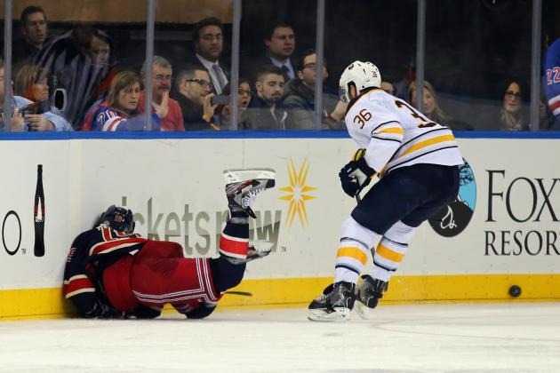 Sabres' Kaleta Suspended Five Games for Boarding