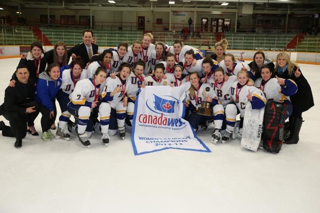 UBC Thunderbirds Continue Magical Run and Claim Canada West Playoff Title