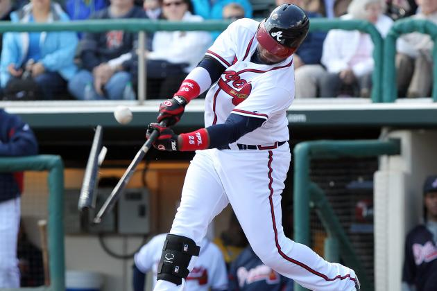 Braves' Johnson, Francisco in Close Race for 3B Job