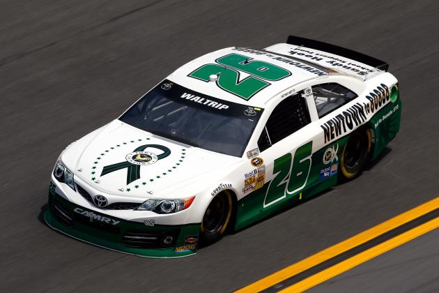 National Rifle Association Signs Deal to Sponsor a NASCAR Sprint Cup Race