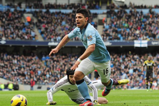 Aguero out of FA Cup Tie, Rodwell Sidelined Again