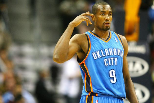 Predicting Serge Ibaka Suspension for Dirty Low Blow on Blake Griffin