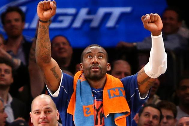 Source: Amar'e 'Ready' for More Minutes