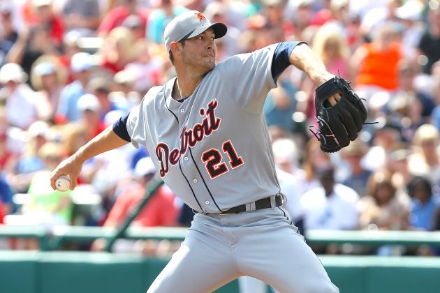 Report: Texas Rangers Contact Detroit Tigers About Pitcher Rick Porcello