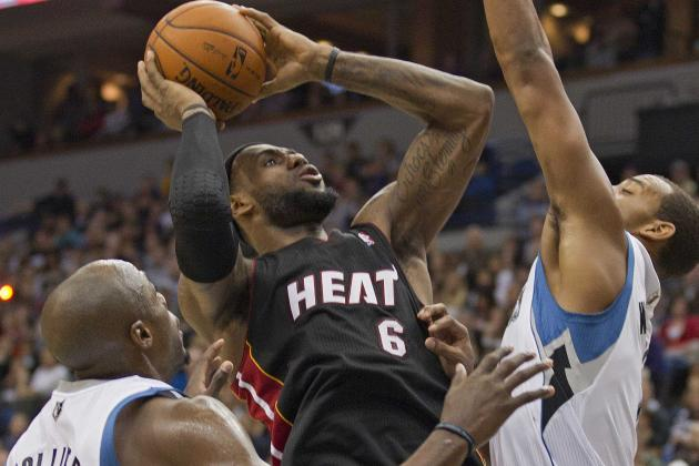 NBA Gamecast: Heat vs. T-Wolves