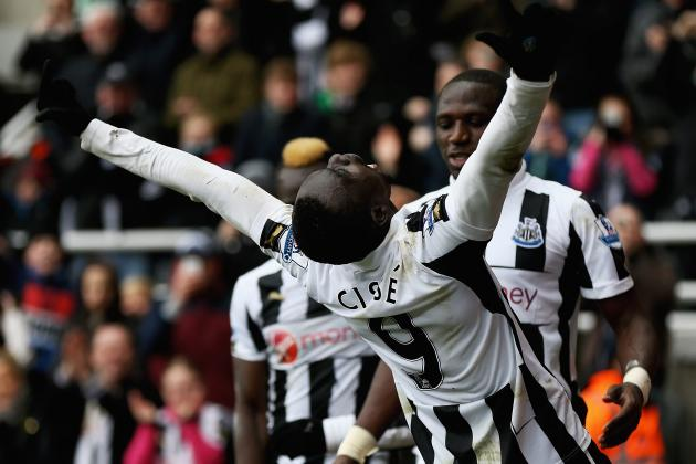 Newcastle United: How Good Is Papiss Cisse Compared to Top EPL Strikers?