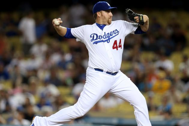 Report: Brewers and Orioles Scouted Dodgers' Right-Hander Aaron Harang