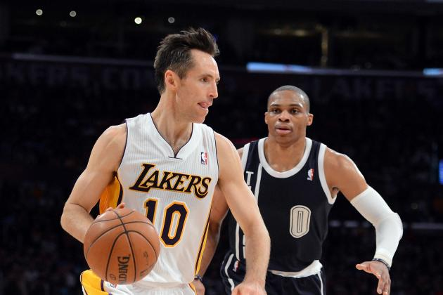 LA Lakers: Is Steve Nash Really on the Decline?