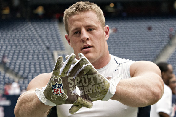 J.J. Watt to Visit Military Bases on NFL-USO Tour