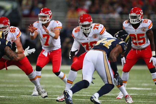 Kansas City Chiefs: Luke Joeckel Doubtful with 1st Pick with Branden Albert Back