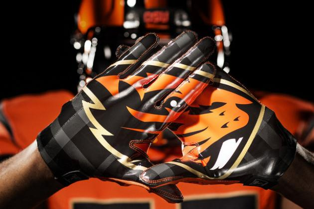 Oregon State and Nike Unveil New Look for the Beavers
