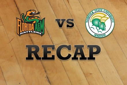 Florida A&M  vs. Norfolk State: Recap, Stats, and Box Score