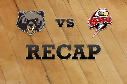Montana vs. Southern Utah: Recap, Stats, and Box Score