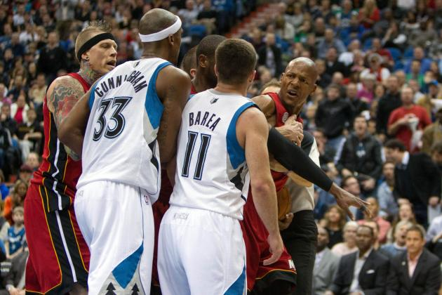 Heated Ray Allen Catches Teammates Off Guard