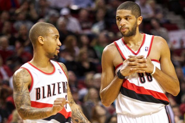 Portland Shoots 65 Percent in First Half; Meyers Leonard Continues Hot Streak