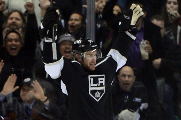Jeff Carter Earns Hat Trick in 5-1 Win over Preds